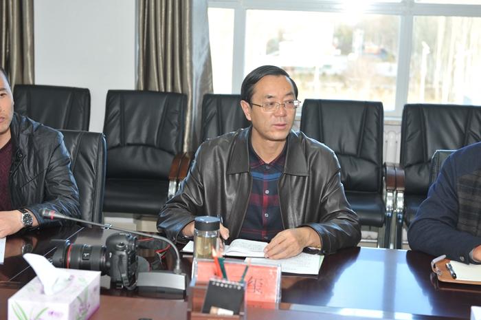 民建青海省委主任王舰一行来场调研工作